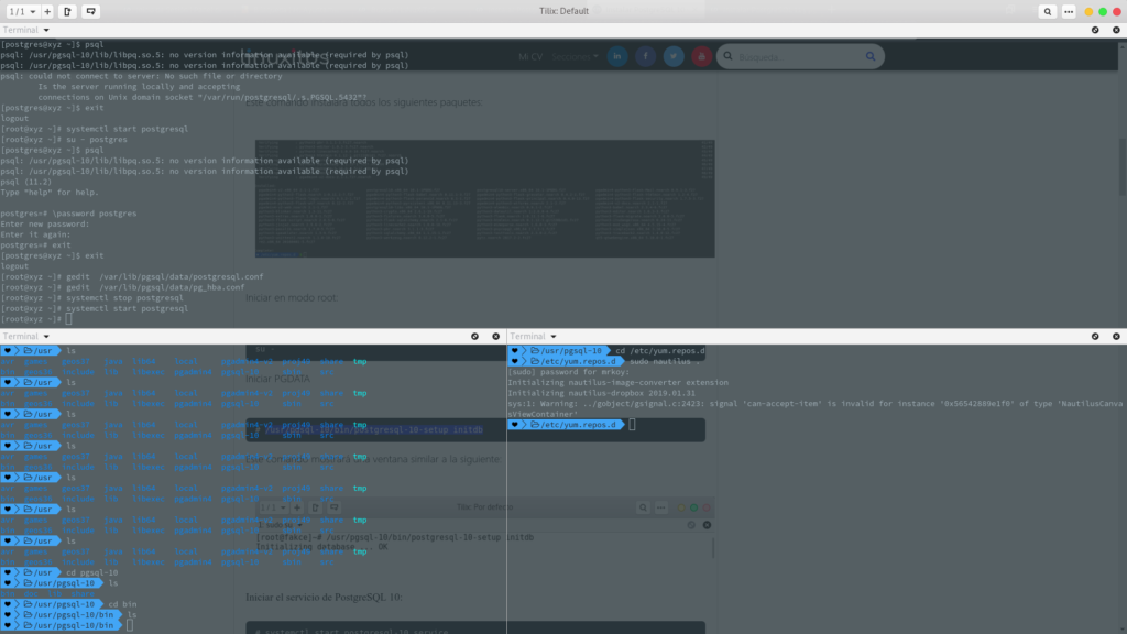 Instalar PostgreSQL 11 | Fedora 30