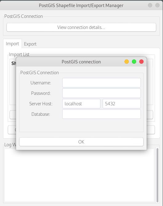 Instalar shp2pgsql-gui | Fedora 30