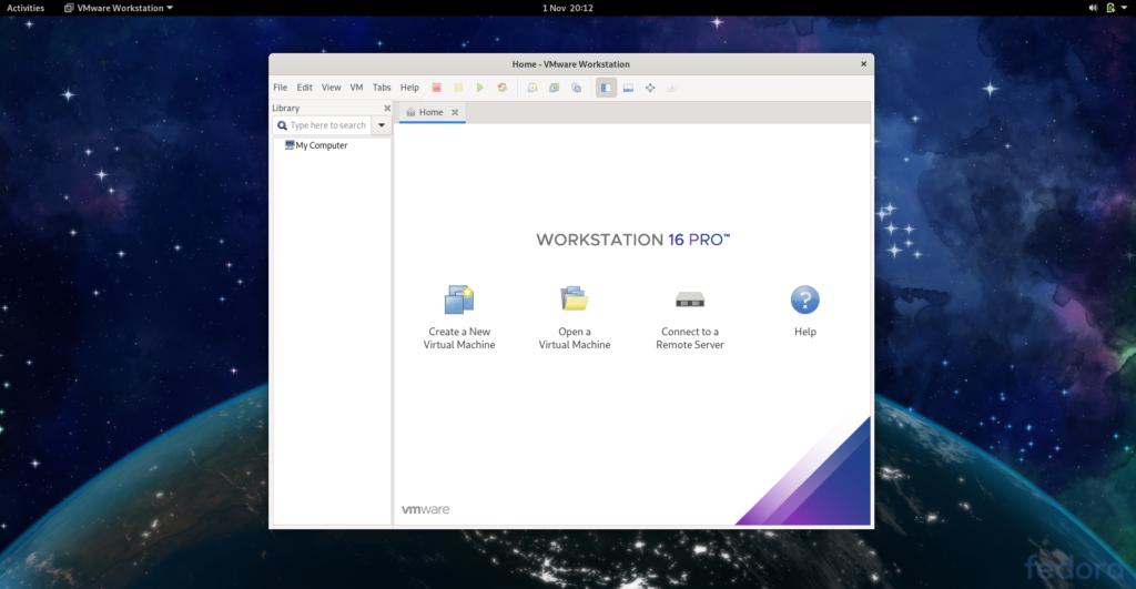 Instalar vmware 16   Fedora 34