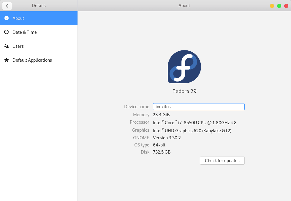 Problemas después de actualizar a Fedora 29